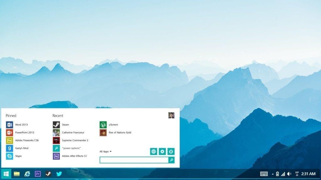 Windows 10 Lite mock