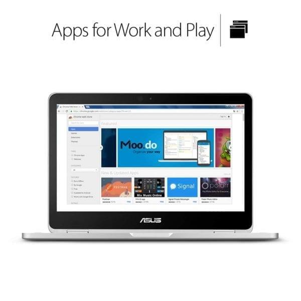 ASUS C302CA Flip- 64GB w/Intel Core m3