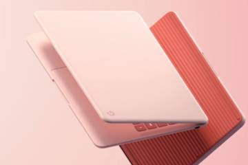 Pixelbook Go not pink front